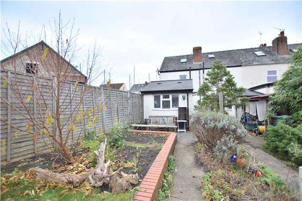 2 Bedrooms End Of Terrace House for sale in Painswick Road, GLOUCESTER, GL4 6PT