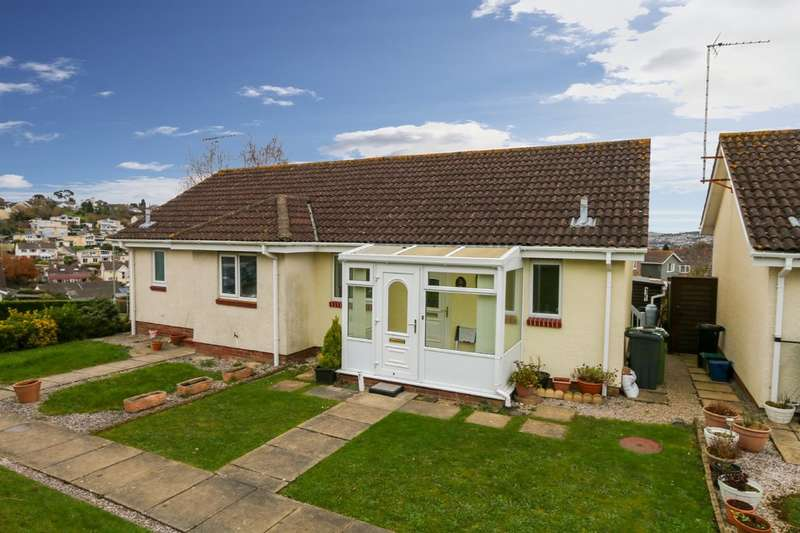 1 Bedroom Semi Detached Bungalow for sale in Emblett Drive, Newton Abbot