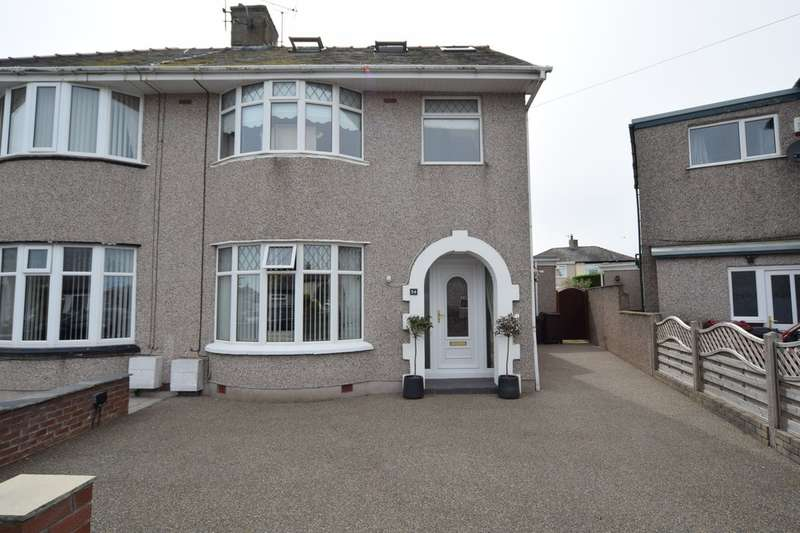 3 Bedrooms Semi Detached House for sale in Strathmore Avenue, Walney, Cumbria, LA14 3DH