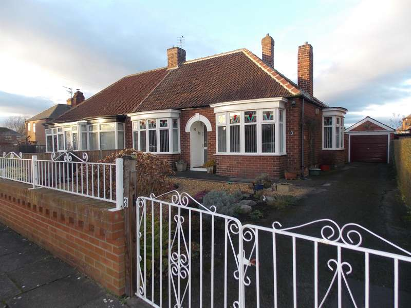 2 Bedrooms Bungalow for sale in Trent Avenue, Thornaby, Stockton-on-Tees, TS17 8HS