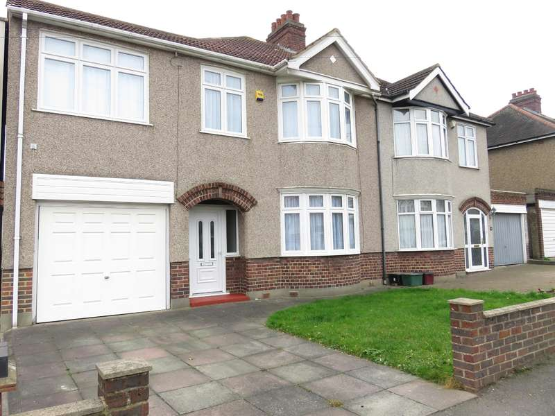 4 Bedrooms Semi Detached House for sale in Sandringham Drive, Welling, Kent, DA16 3QZ