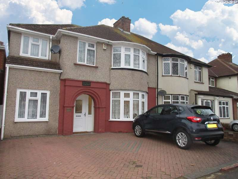 6 Bedrooms Semi Detached House for sale in Lady Margaret Road, Southall, UB12QB