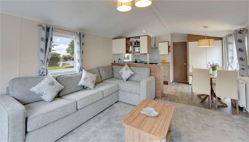 2 Bedrooms Park Home Mobile Home for sale in LA23 3DL Willerby Avonmore, Fallbarrow Park, Windermere, Cumbria