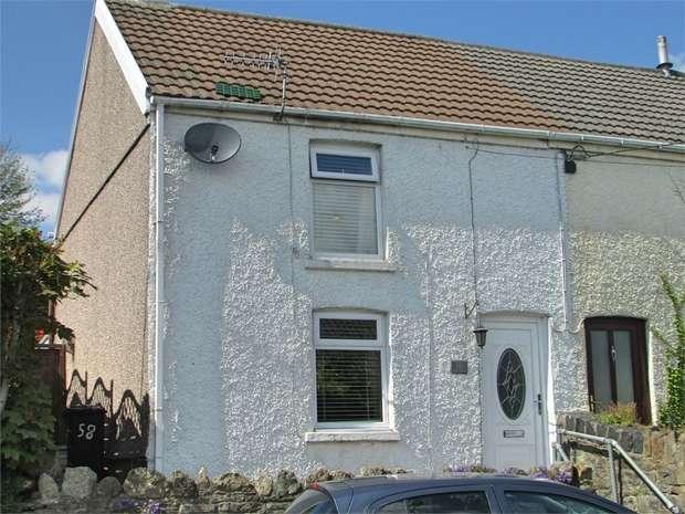 2 Bedrooms Semi Detached House for sale in Burrows Road, Skewen, Neath, West Glamorgan