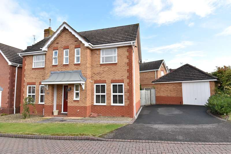 3 Bedrooms Detached House for sale in Tamar Place, Evesham, WR11