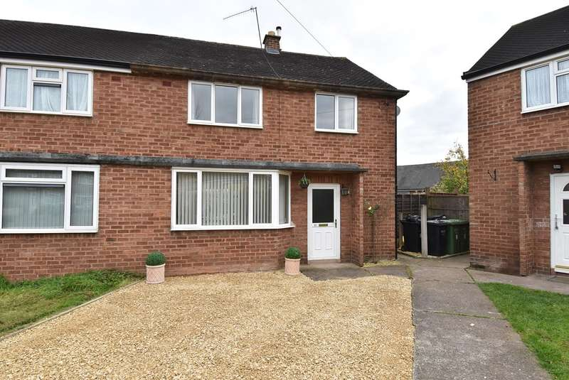 3 Bedrooms Semi Detached House for sale in Cresswell Close, Fernhill Heath, Worcester, WR3