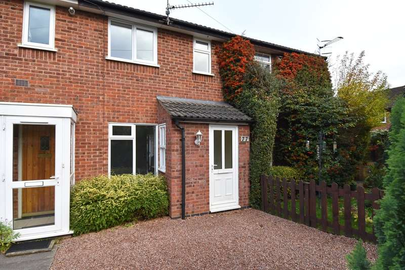 2 Bedrooms Terraced House for sale in Whitewood Way, Worcester, WR5
