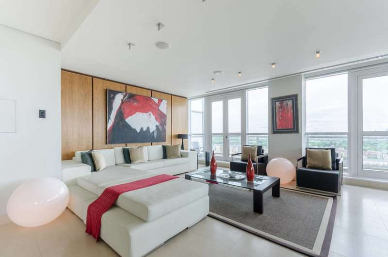 4 Bedrooms Penthouse Flat for sale in Belgrave Court, Canary Wharf, E14