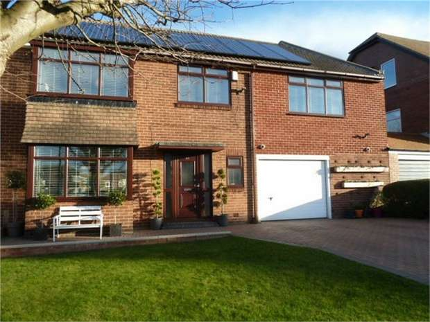 5 Bedrooms Semi Detached House for sale in Kennersdene, Tynemouth, Tyne and Wear