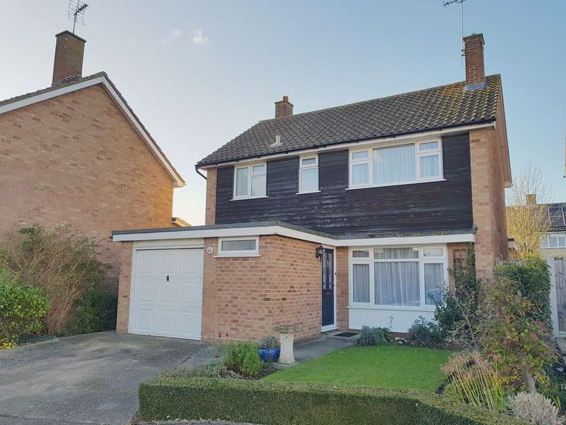 3 Bedrooms Detached House for sale in Spalding Way, Great Baddow, Chelmsford, CM2