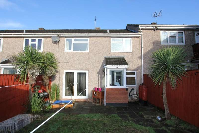 3 Bedrooms Terraced House for sale in Drake Road, Newton Abbot