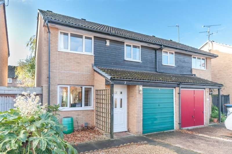 3 Bedrooms Semi Detached House for sale in Forresters Drive, Welwyn Garden City, Hertfordshire, AL7