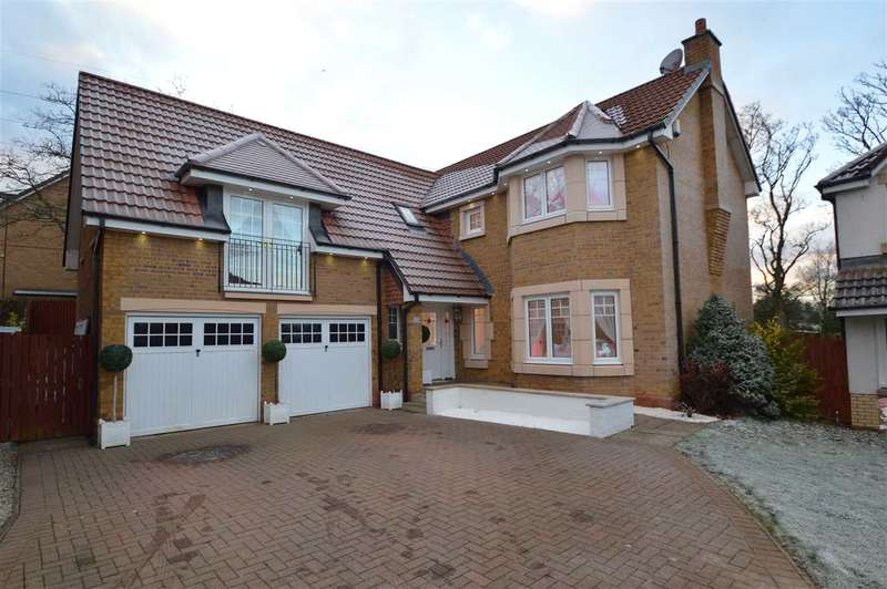 5 Bedrooms Detached House for sale in Lybster Way, Westcraigs, Blantyre -Stunning, rarely available larger style executive detached villa- corner plot