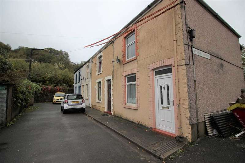 3 Bedrooms End Of Terrace House for sale in Leyshon Terrace., Porth