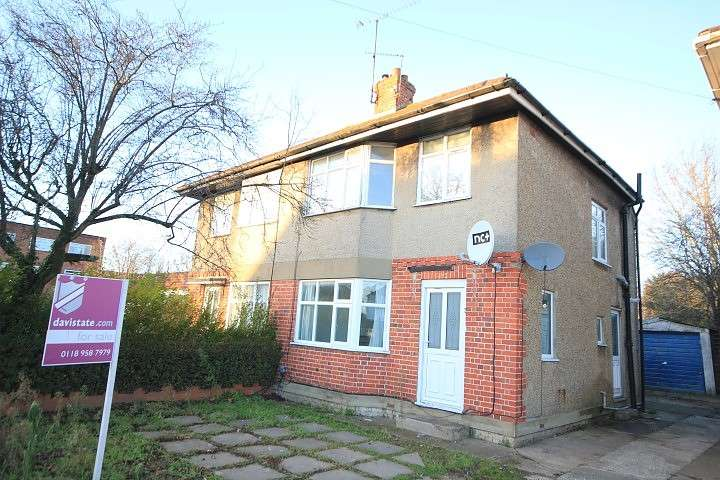 3 Bedrooms Semi Detached House for sale in Shinfield Rise, Reading, RG2