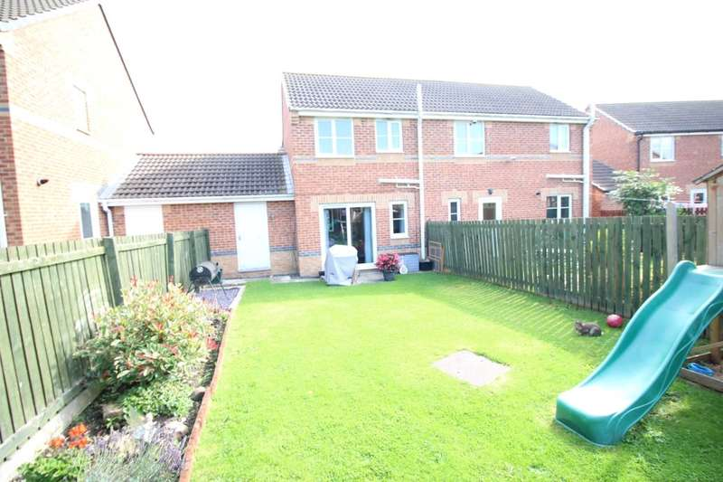 2 Bedrooms Semi Detached House for sale in Matthews Drive, St. Helen Auckland, Bishop Auckland, DL14