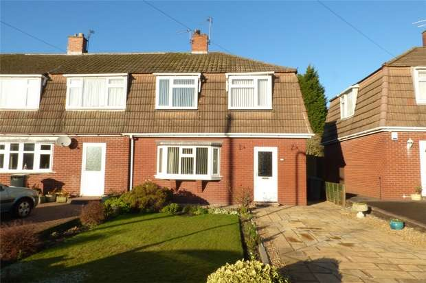 3 Bedrooms End Of Terrace House for sale in Cornish Crescent, Stockingford, Nuneaton, Warwickshire