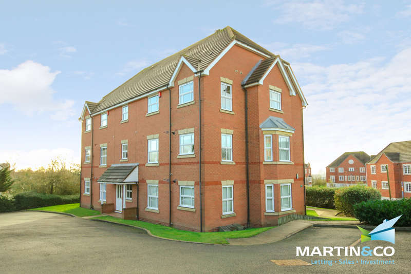 2 Bedrooms Flat for sale in Garrick Close, Dudley, DY1