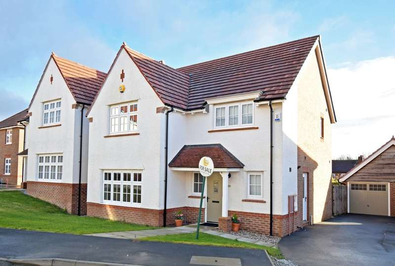 4 Bedrooms Detached House for sale in Millfield Drive, Wrenthorpe, Wakefield