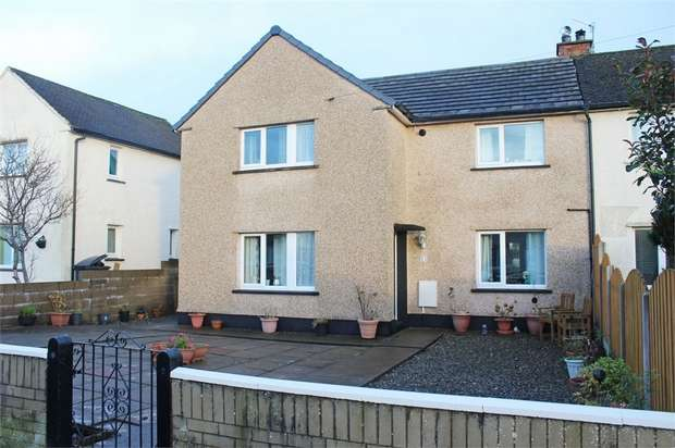 3 Bedrooms Semi Detached House for sale in Greenmoor Road, Egremont, Cumbria