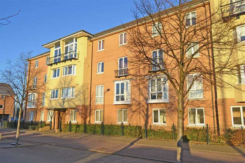 2 Bedrooms Apartment Flat for sale in APRILIA HOUSE, FFORDD GARTHORNE, CARDIFF BAY, CARDIFF