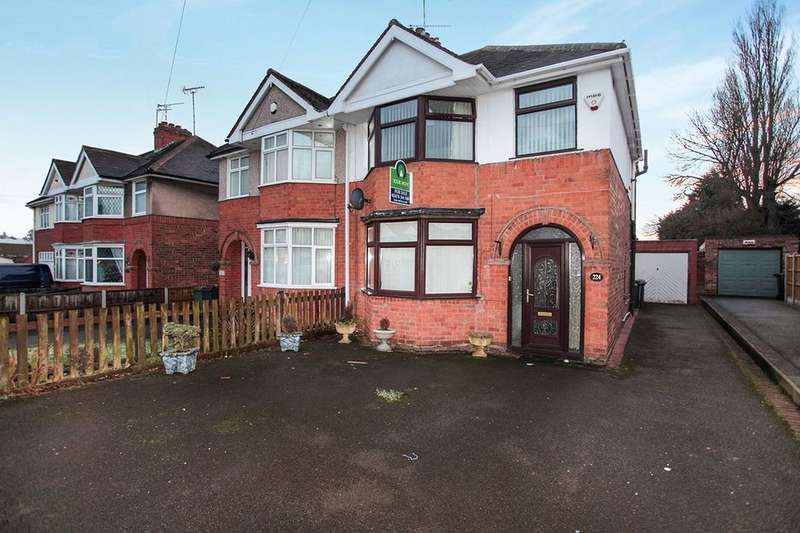 3 Bedrooms Semi Detached House for sale in Greenmoor Road, Nuneaton, CV10