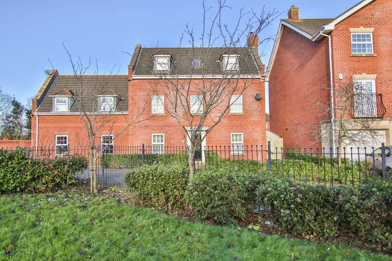 5 Bedrooms Detached House for sale in Cambrian Crescent, Marshfield, Cardiff