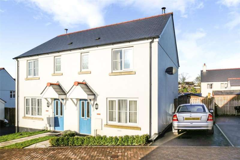 3 Bedrooms Semi Detached House for sale in Roseworthy Road, Shortlanesend, Truro
