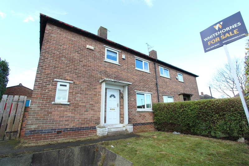 2 Bedrooms Semi Detached House for sale in Birley Moor Crescent, Sheffield