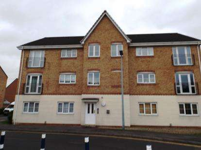 2 Bedrooms Flat for sale in Thunderbolt Way, Tipton, West Midlands