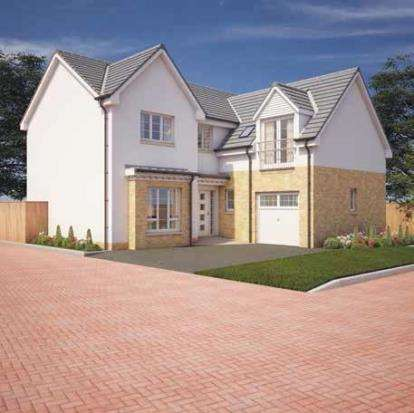 5 Bedrooms Detached House for sale in Annick Gardens, Perceton, Middleton Road, Irvine