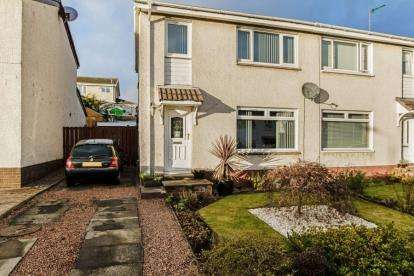3 Bedrooms Semi Detached House for sale in Juniper Drive, Milton of Campsie, Glasgow, East Dunbartonshire