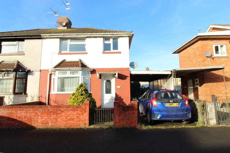 3 Bedrooms Semi Detached House for sale in Colston Avenue, Newport, NP19