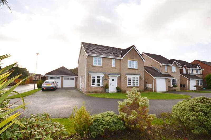 4 Bedrooms Detached House for sale in Guernsey Avenue, Buckshaw Village, Chorley