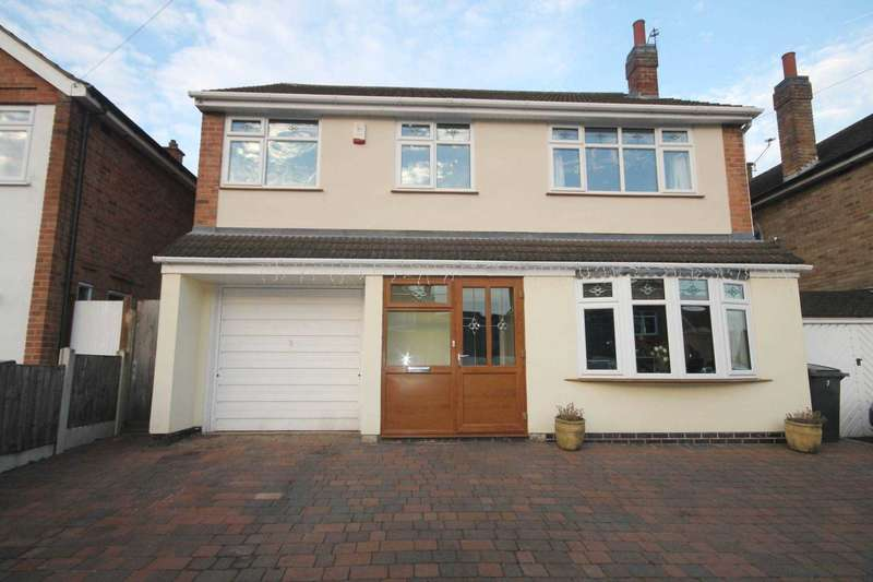 5 Bedrooms Detached House for sale in St Helens Close, Off Anstey Lane