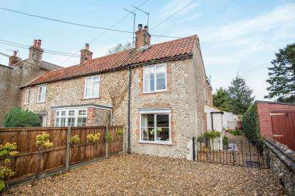 2 Bedrooms Semi Detached House for sale in North Creake, Fakenham, Norfolk