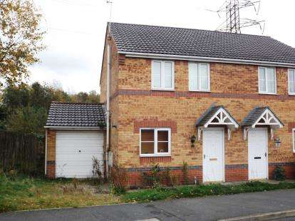 3 Bedrooms Semi Detached House for sale in Curbar Close, North Wingfield, Chesterfield, Derbyshire