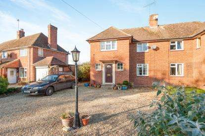3 Bedrooms Semi Detached House for sale in Rosamond Cottages, Kingswood, Buckinghamshire, England