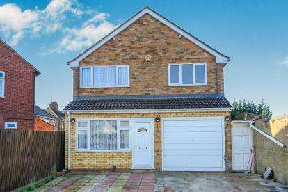 4 Bedrooms Detached House for sale in Warbon Avenue, Dogsthorpe, Peterborough, Cambridgeshire