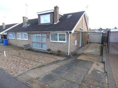 3 Bedrooms Bungalow for sale in Dovecote Drive, Denton, Northampton, Northamptonshire