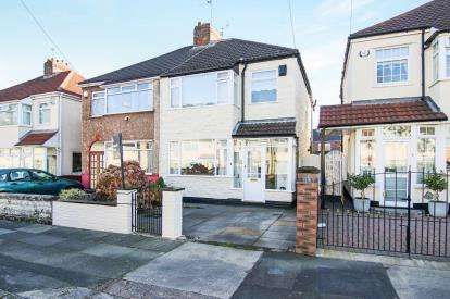 3 Bedrooms Semi Detached House for sale in Gordon Drive, Liverpool, Merseyside, England, L14