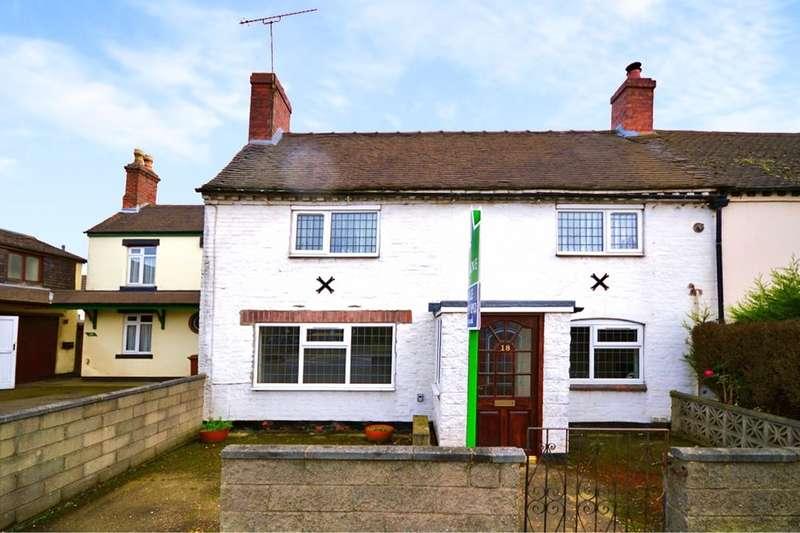 2 Bedrooms Property for sale in Hartshorne Road, Woodville, SWADLINCOTE, DE11
