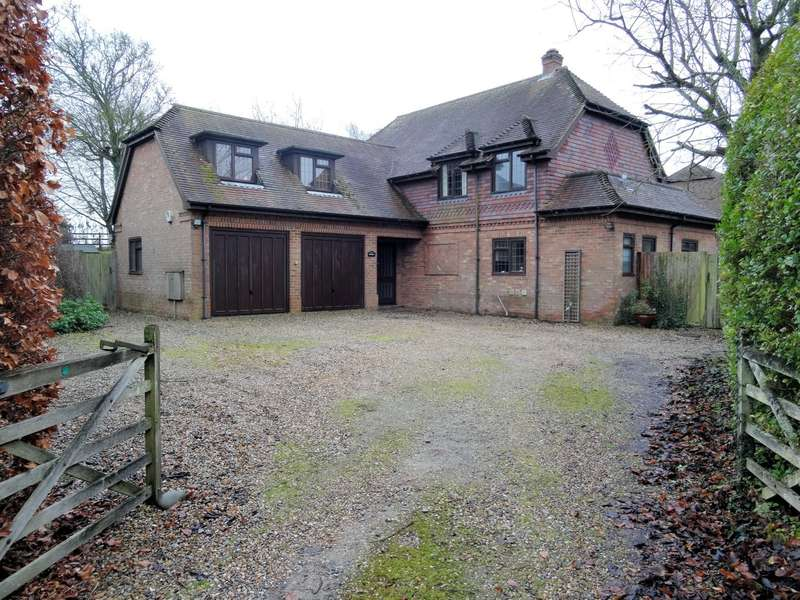 5 Bedrooms Detached House for sale in Church Lane, Cliddesden