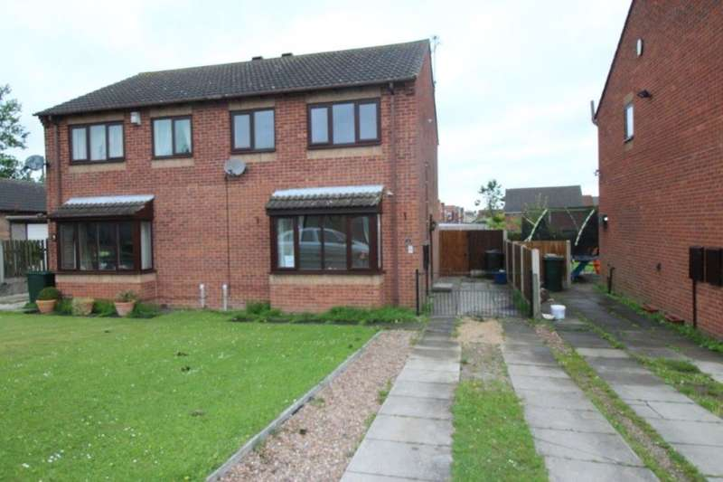 3 Bedrooms Semi Detached House for rent in Park Lane, Laughton Common,Dinnington, Sheffield, S25
