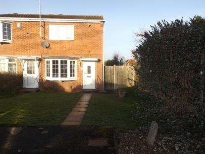 2 Bedrooms End Of Terrace House for sale in Cropton Grove, Bingham, Nottingham, Nottinghamshire