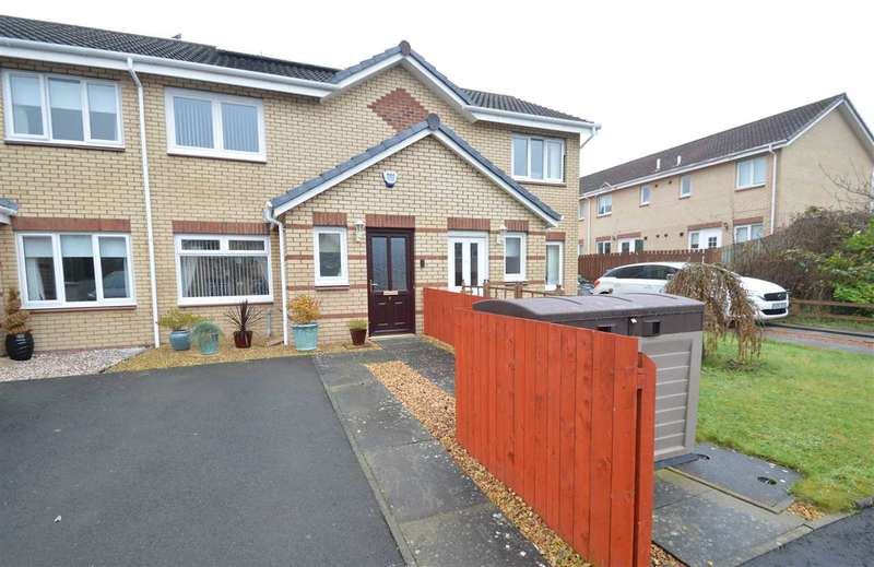 2 Bedrooms Terraced House for sale in Centurion Place, Motherwell
