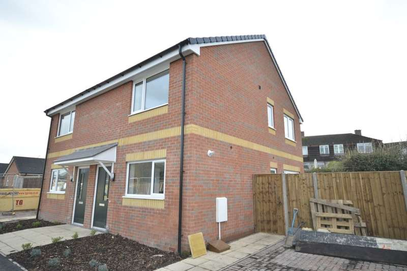 2 Bedrooms Semi Detached House for sale in Fernhill Lane, Gobowen, Oswestry, SY11