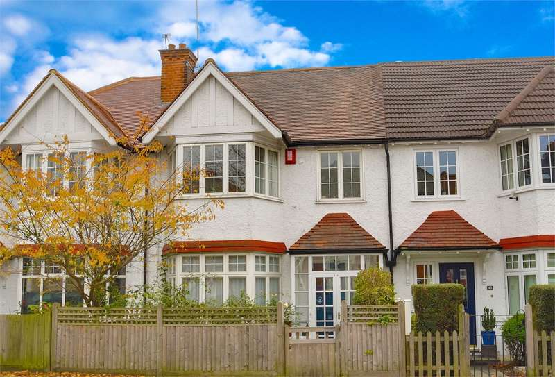 4 Bedrooms Terraced House for sale in Fortis Green, East Finchley, London