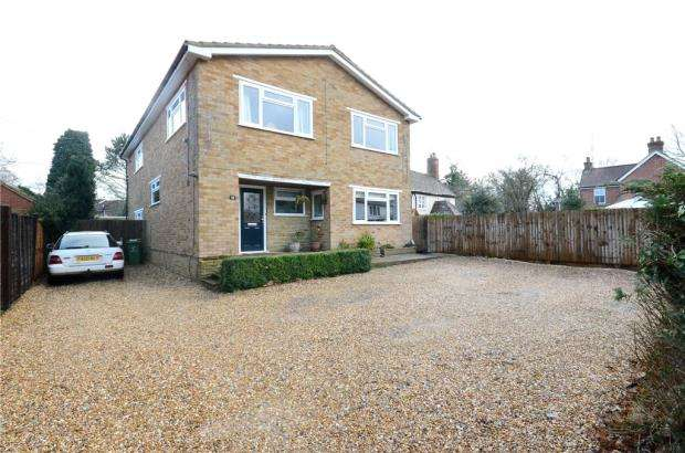 5 Bedrooms Detached House for sale in Aldershot Road, Church Crookham, Fleet