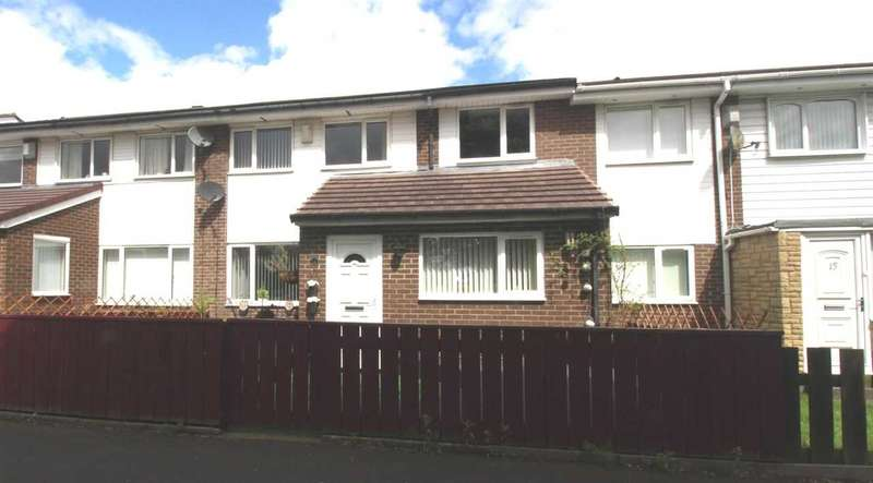 4 Bedrooms Semi Detached House for sale in Linslade Walk, Beaconhill Glade, Cramlington
